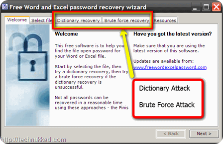 Free_Word_Excel_password_recovery