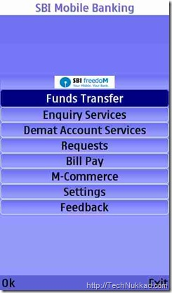 SBI mobile banking services