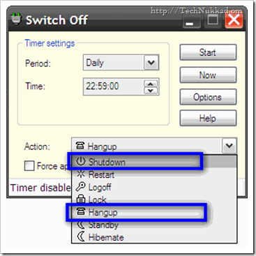 Windows Shutdown Scheduler-Switch off